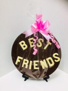 Chocolate Plaques Best Friends