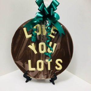 Chocolate Plaques Medium