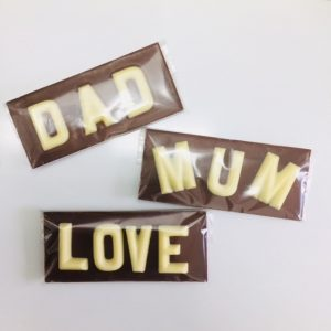 Small Chocolate Plaques