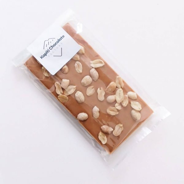 Salted Caramel Choc Bar with Peanuts