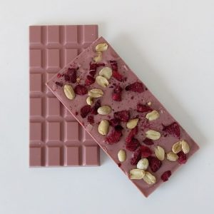 Ruby Chocolate with Plum and Peanut